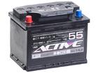 Аккумулятор ACTIVE FROST 55Ah 450А прям.пол. Евро L2