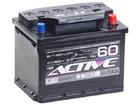Аккумулятор ACTIVE FROST 60Ah 500А обр.пол. Евро L2