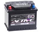 Аккумулятор ACTIVE FROST 60Ah 500А прям.пол. Евро L2