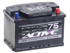 Аккумулятор ACTIVE FROST 75Ah 620А обр.пол. Евро L3