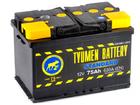 Аккумулятор Тюмень STANDARD 6СТ-75.1L