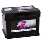 Аккумулятор AFA PLUS 60Ah 540А обр.пол. Евро L2 низкий